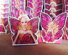 Barbie Butterfly - Forminhas para doces