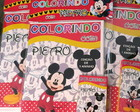KIT COLORIR COM LAPELA MICKEY