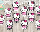Aplique / Recorte Hello Kitty