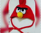 Touca Angry Bird Red