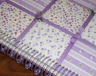 CADERNO DE MENSAGENS PATCH LILAS ESPIRAL