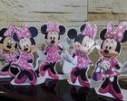 Display de mesa Minnie Rosa