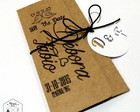 Envelope Save The Date Personalizado