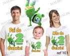 Kit Camiseta Aniversario Gummy Bear c/ 3