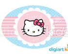 Placa - Painel - Hello Kitty - 70cm