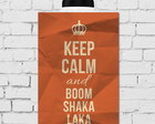 Placa Decorativa Frase Keep Calm