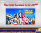 PAINEL FESTA 250X135 LAZY TOWN 3