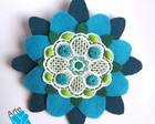 BROCHE MANDALA FLOR 2