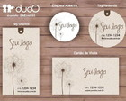 duoO eco 003 - cart�es, tags, adesivos