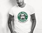 Camisa Camiseta Star Wars Coffee