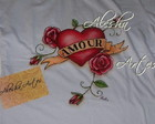 "Baby Look ""Tattoo -  Amour"""