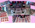 Monster High - Doces personalizados