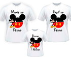 kit 3 camisetas aniversario mickey
