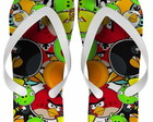 Chinelo Angry Birds Personalizado