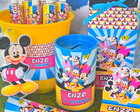Kit Festa Personalizado Turma do Mickey