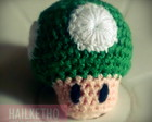 Cogumelo 1UP - SUPER MARIO - AMIGURUMI