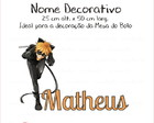 Nome Decorativo - Miraculous LadyBag