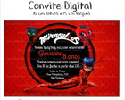 Convite Digital - Miraculous LadyBag