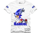 Camisa Sonic Tails Amy Personalizada