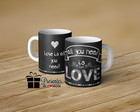 CANECA DE PORCELANA - ALL YOU NEED