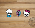 Adesivos 4cm - Monster High