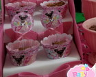 Topper e Saia Cupcake Pet Shop