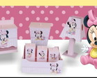 kit higiene Minnie e Mickey