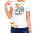 Camisetas Adulto Baby Look