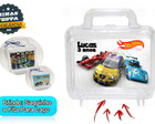 Maletinha Personalizada Hot wheels