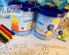 Kit pintando a caneca Backyardigans