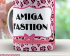 Caneca Animal Print Amiga Fashion - 598