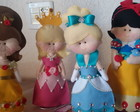 Kit de princesas feltro- disney