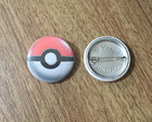 Botton Pokebola - 2,5cm