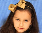 00674 Tiara Hair Bow