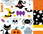 Kit Scrapbook Digital Halloween - 2