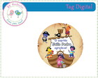 Tag Digital - Backyardigans Piratas