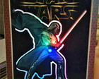 centro de mesa Star Wars com LED