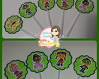Topper Doces - Super Why