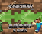 Arte Digital Lapela - Minecraft