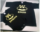 Camiseta + body personalizado Batman