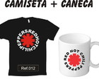 Kit Camiseta e Caneca Red Hot