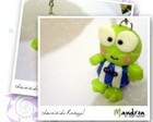 Chaveiro Keroppi - azul