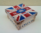 Caixa London 14x14x7cm