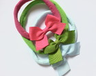 Kit 3 headbands - laço M