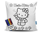 Almofada Hello Kitty para Colorir