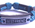 Pulseira Best Friend Rústica Unissex