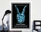 Quadro 60x40cm Cinema Filme Donnie Darko