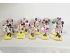 Kit Cenário Display De Mesa Minnie Rosa