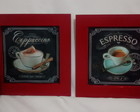 Dupla de Quadros Decorativos Coffee