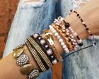 Mix Pulseiras Fashion Girls